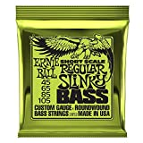 Cuerdas para bajo Ernie Ball Regular Slinky Nickel Wound Short Scale -...